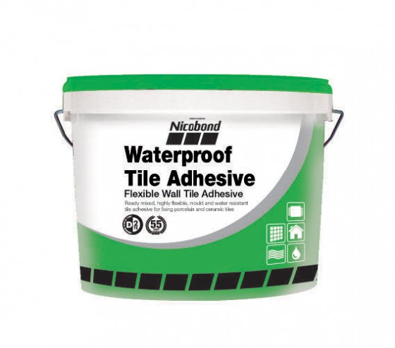 Nicobond Waterproof Tile Adhesive