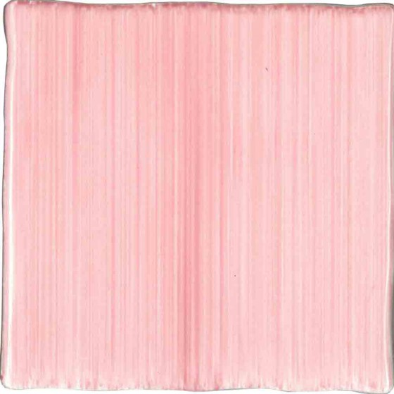Hand Painted Rustic Pink Wall Tile