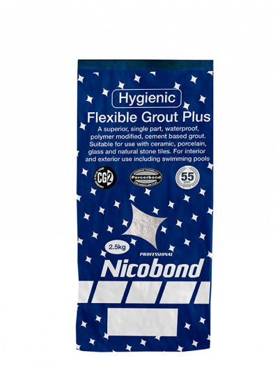 Nicobond Flexible Grout Plus Mid Grey