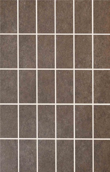 Serenity Dark Brown Scored Mosaic Wall Tile
